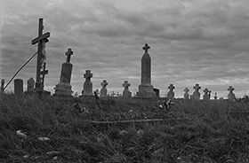 Red Clouds Cemetery. Oglala, South Dakota